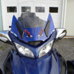 2010 RT windshield- Grand Blue Met 3