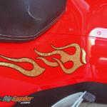 Gold Leaf Spyder Flames 2