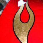 Gold Leaf Spyder Flames 3
