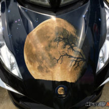 Moon & Stars BRP frunk wrap