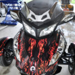 True Fire BRP Spyder Vinyl Graphics kit