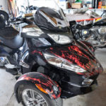 True Fire Can-am Spyder Vinyl Wrap kit