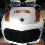 BRP Spyder F3 Spears racing stripe kit