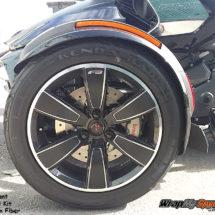 F3 Slant carbon fiber wheel kit