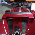 Quad Stripe Carbon Fiber rear close