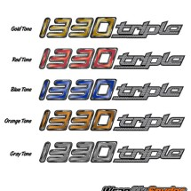 1330 Straight Decal Color Chart