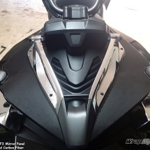 Spyder textured carbon fiber panels