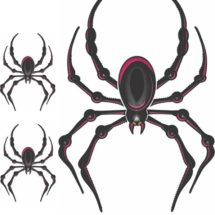 Lady Bellerdine Pink Spider