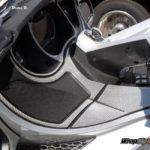 Can-am Spyder Silver Carbon Fiber RT dash kit