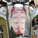 f3 spine red-black carbon fiber