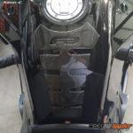 F3 Spine tank protector Real Carbon Fiber
