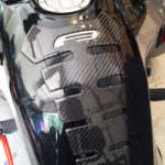 F3 Spine tank protector with Silver