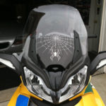 Spider Drop Windshield Blackout for Spyder ST